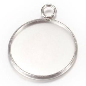 Lůžko kruh 20mm chirurgická ocel (1ks)