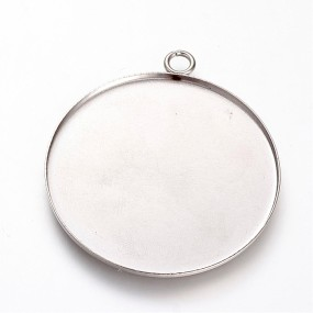 Lůžko kruh 35mm chirurgická ocel (1ks)