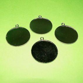 Lůžko kruh 20mm 1ks kouřová ocel
