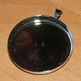 Lůžko kruh 35mm ozdobné očko 1ks