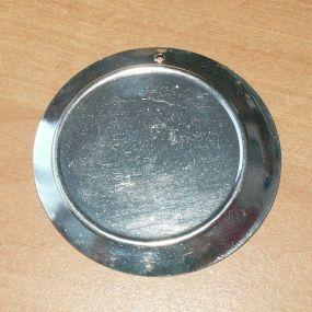 Lůžko kruh stříbrný 50mm 1ks