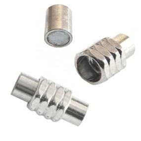 Magnetické zapínání vlepovací s platinovými proužky 4mm