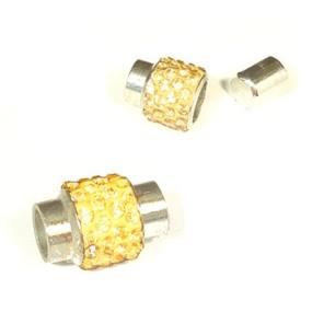 Magnetické zapínání vlepovací 7mm zlaté