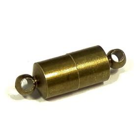 Magnetické zapínání starobronz váleček (1ks)