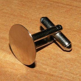 Manžetový knoflík 15mm 1ks