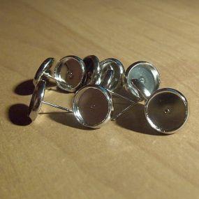 Lůžko náušnicové 12mm (10mm vnitřní průměr) NP12 (10ks)