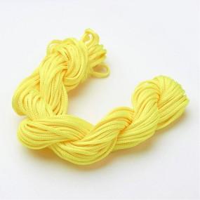 Nylonová šňůra žlutá 2,0mm (5m)
