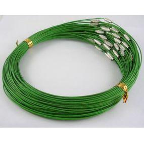 Obruč na krk se šroubovacím zapínáním (OBZ) zelená 1 ks