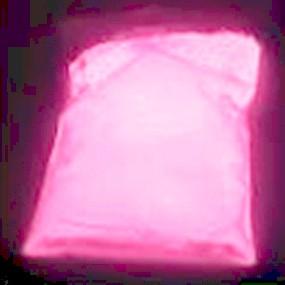 Svítící prášek do pryskyřice / fotoluminiscenční pigment růžový