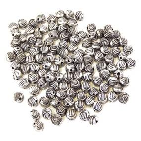 Korálky plastové kuličky 10g (cca 120ks)