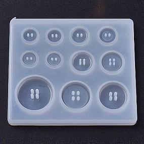 Forma na odlévání pryskyřice - 11 knoflíků