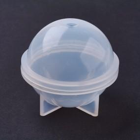 Forma na odlévání pryskyřice - dvoudílná koule 50mm