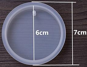 Forma na odlévání pryskyřice - kruh 60mm