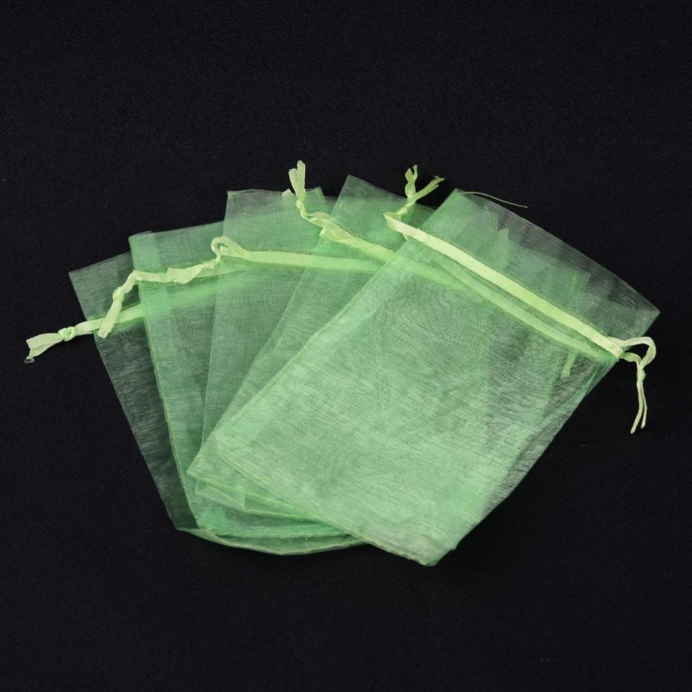 Dárkový pytlíček 10x12cm zelený 1ks