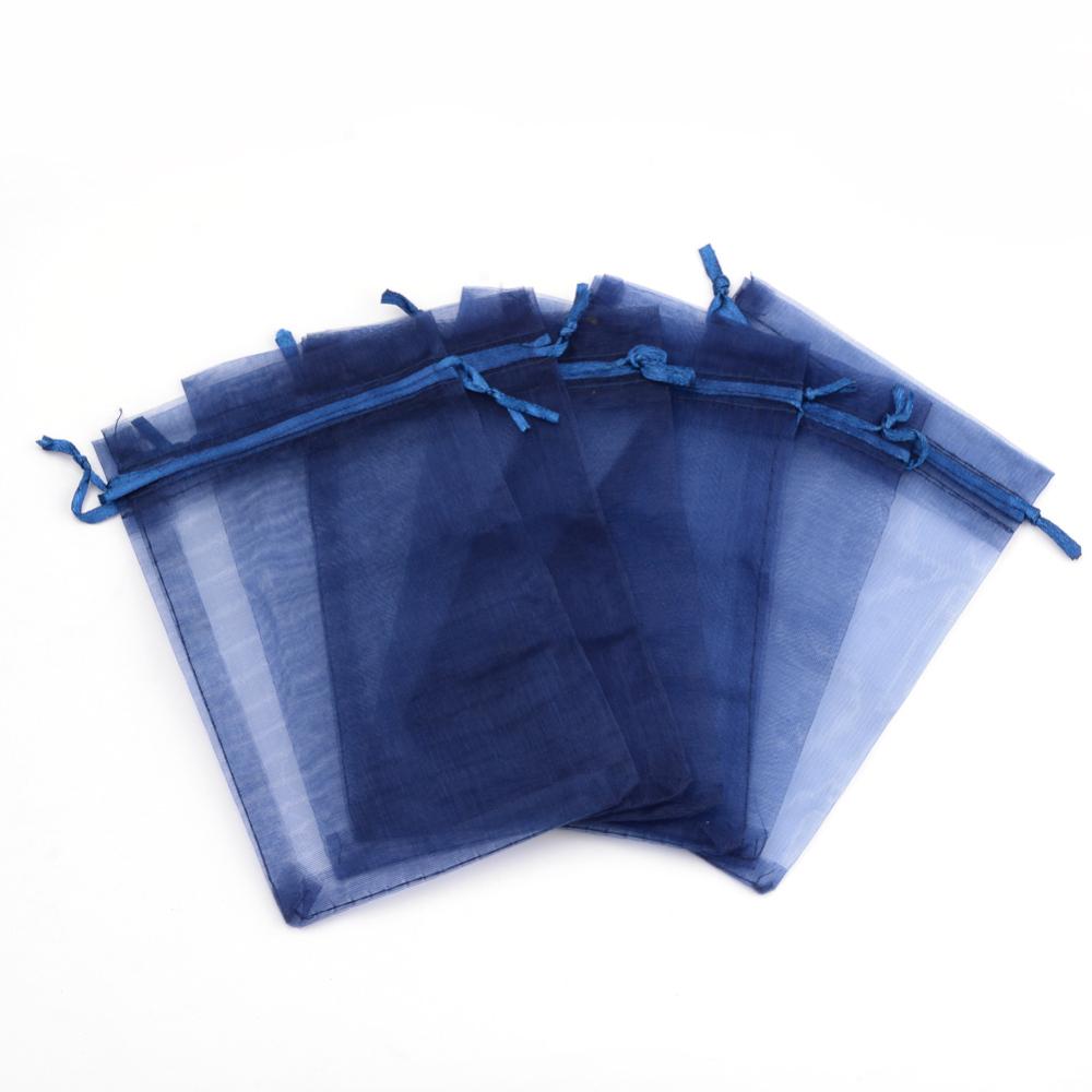 Dárkový pytlíček 10x12cm tmavě modrý 1ks