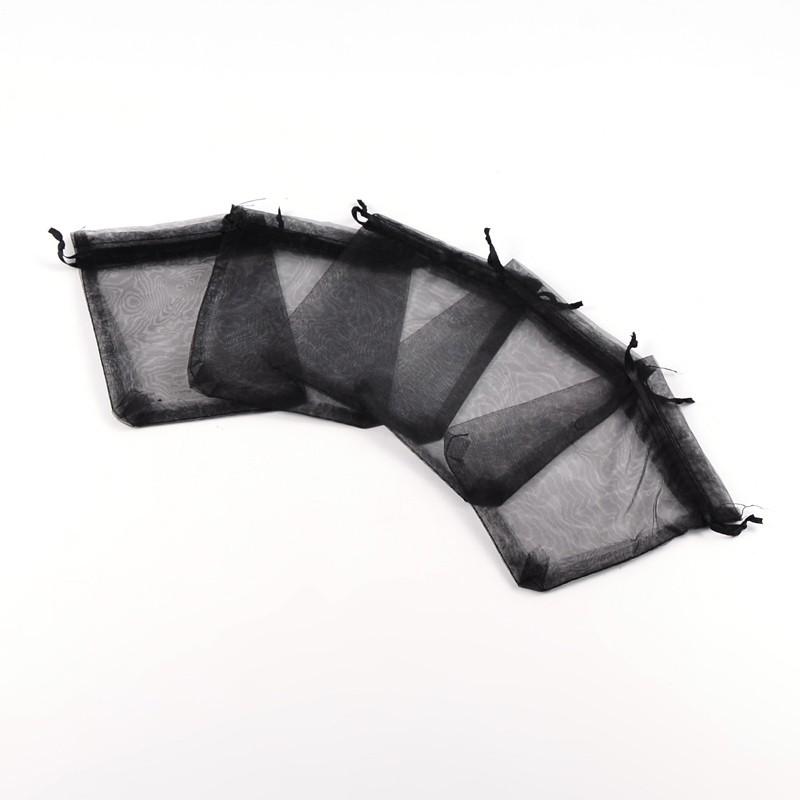 Dárkový pytlíček 10x12cm černý 1ks