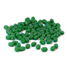 Dvoudírkový rokajl tmavě zelená 10g