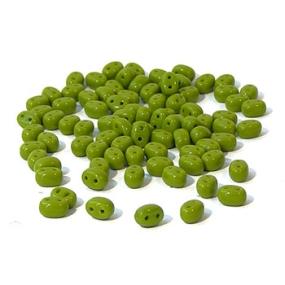 Dvoudírkový rokajl olivově zelená 10g