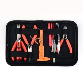 Set kleští a dalších nástrojů na bižuterii