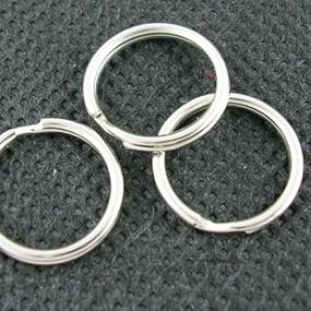 Spojovací kroužky dvojité 25mm (4ks)