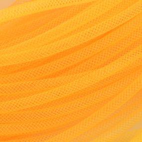 Síťka na korálky (modistická dutinka) 4mm 4m žlutá