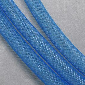 Síťka na korálky (modistická dutinka) 4mm 4m sv.modrá
