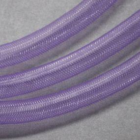 Síťka na korálky (modistická dutinka) 8mm 2,5m sv.fialová