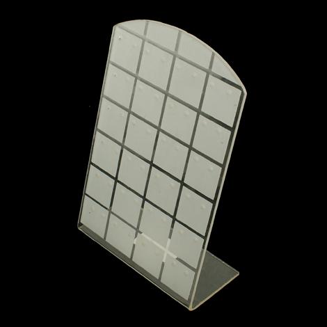 Stojánek na náušnice plastový (STOJ02)