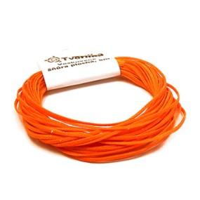 Voskovaná šňůra 0,8mm 5m oranžová