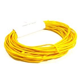 Voskovaná šňůra 1mm 5m žlutooranžová