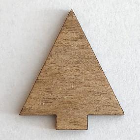 Dřevěný výřez stromek 25x20mm