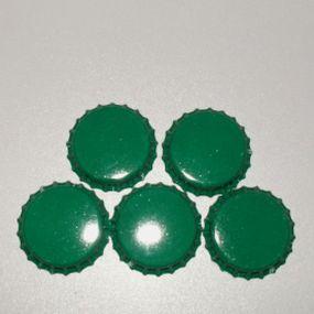 Lůžko - zátka - zelená (5ks) *ZAT5.15*