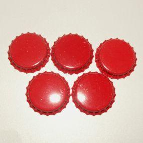 Lůžko - zátka - červená (5ks) *ZAT5.7*